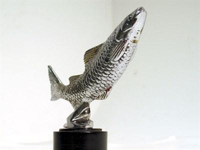 Lot 75 - A 'Leaping Salmon' Accessory Mascot