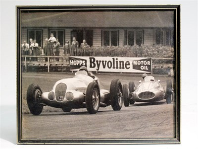 Lot 23-A Large-format, Hand-signed Photograph depicting Brooks and Collins
