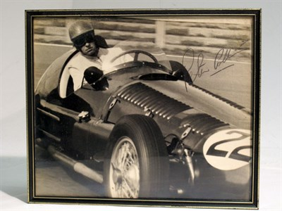 Lot 32-A Large-format, Hand-signed Photograph, Depicting Peter Collins