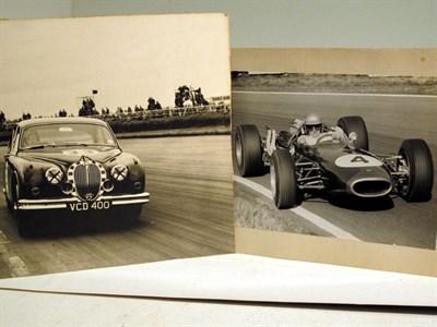 Lot 33-Two Large-Format Motor Racing Photographs