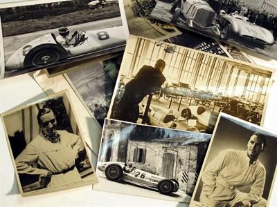 Lot 12-A Quantity of Mercedes-Benz Photographs