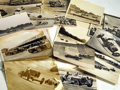 Lot 13-A Quantity of Brooklands Pre-war Photographs