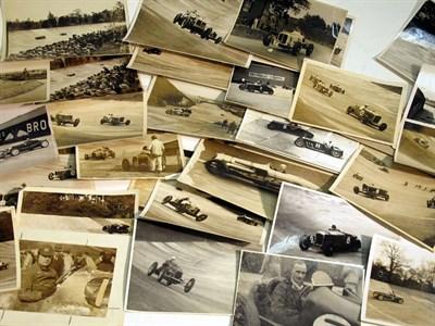 Lot 14-A Quantity of Brooklands Pre-war Photographs