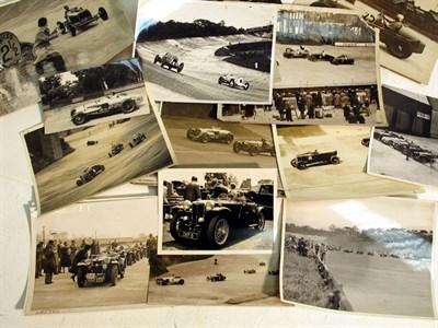 Lot 15-A Quantity of Brooklands Pre-war Photographs