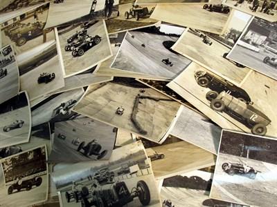 Lot 35-A Quantity of Brooklands Pre-war Photographs