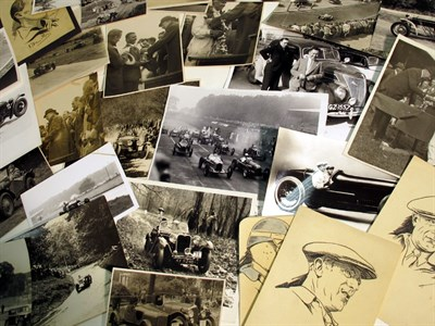 Lot 36-A Large Quantity of Motor Racing/Rallying Photographs