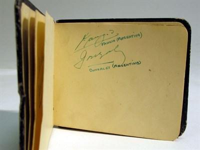 Lot 40-An Autograph book