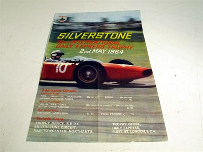 Lot 77-A Silverstone 'Daily Express' Meeting Race Poster