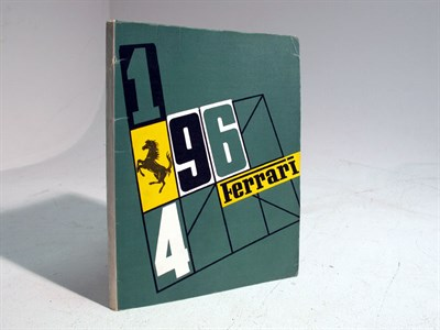 Lot 79-Ferrari Yearbook -1964