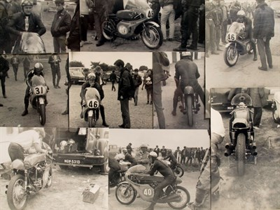 Lot 46-A Rare Collection of Original Mike Hailwood/Honda Photographs.