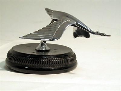 Lot 49-A Chromed Flying Stalk Accessory Mascot