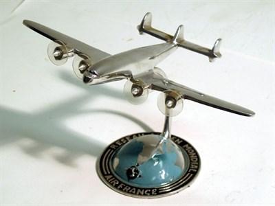 Lot 52 - An 'Air France' Desk Piece