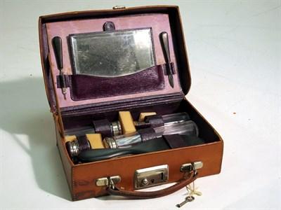 Lot 53 - A Pre-war Ladies Vanity Case