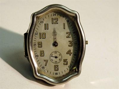 Lot 60 - An Ornate Dashboard Clock