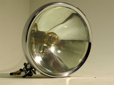 Lot 96-A Chrome-Plated Searchlight.