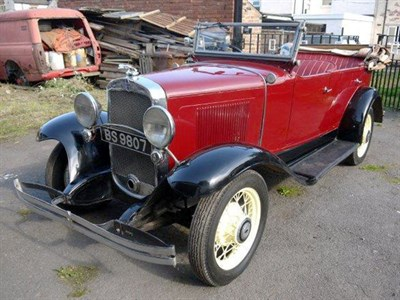 Lot 35 - 1933 Chevrolet Series AE Independence
