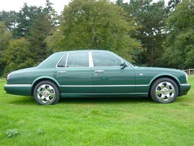 Lot 65-2002 Bentley Arnage R