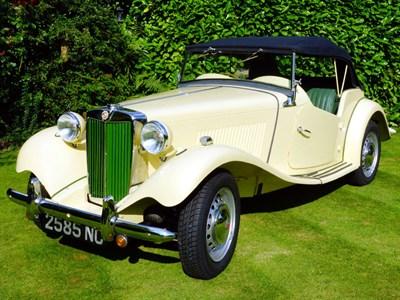 Lot 46 - 1952 MG TD
