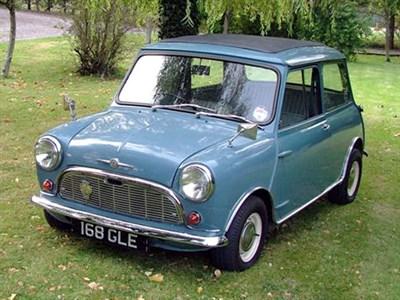 Lot 50 - 1961 Morris Mini Minor