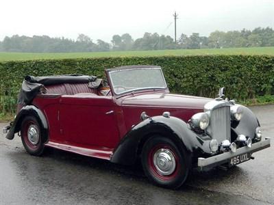 Lot 16 - 1948 Alvis TA14 Drophead Coupe