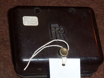 Lot 403 - A Rolls-Royce Bakelite Fuse Box