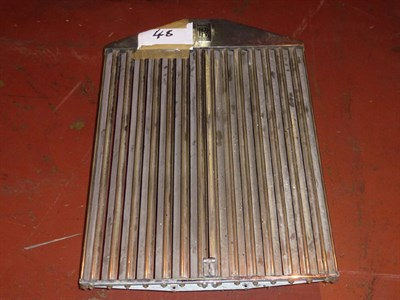 Lot 411 - A Rolls-Royce Radiator Shell