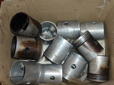 Lot 412 - A Quantity of Rolls-Royce Pistons