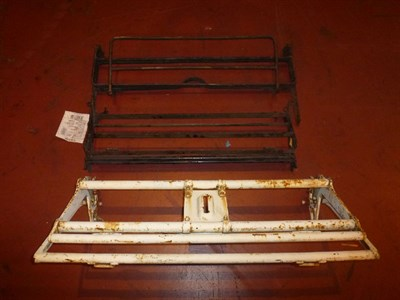 Lot 416 - Three Rolls-Royce Luggage Racks