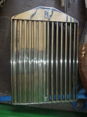 Lot 427 - A Rolls Royce Radiator and Shell