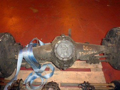 Lot 436 - A Rolls-Royce Rear Axle