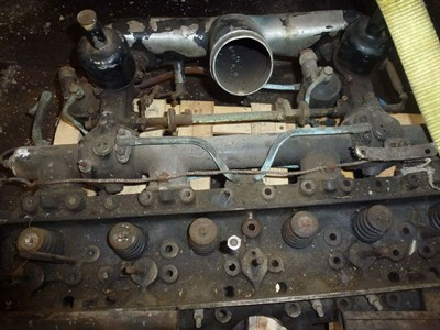 Lot 443 - A Rolls-Royce Cylinder Head