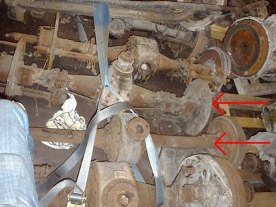 Lot 445 - Two Rolls-Royce Rear Axles