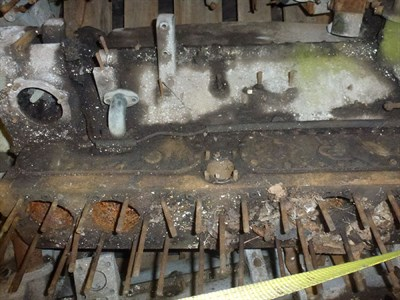 Lot 456 - A Rolls-Royce Engine Block and Crankcase
