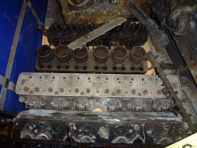 Lot 461 - A Quantity of Rolls-Royce Cylinder Heads