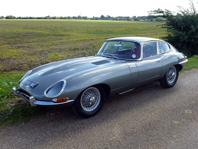 Lot 52-1962 Jaguar E-Type 3.8 Coupe