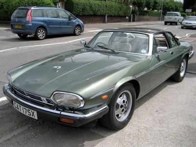 Lot 8 - 1985 Jaguar XJ-SC 5.3