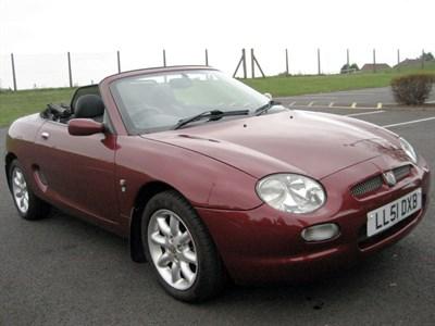 Lot 59 - 2001 MG F 1.8