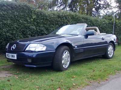 Lot 22 - 1995 Mercedes-Benz SL 500