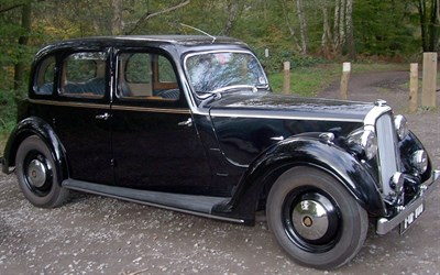 Lot 9 - 1939 Rover 12hp Saloon