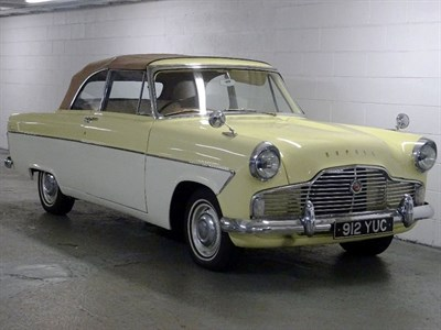 Lot 93-1959 Ford Zephyr MKII Convertible