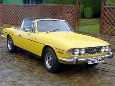 Lot 64 - 1974 Triumph Stag