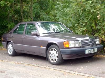 Lot 66 - 1993 Mercedes-Benz 190 E