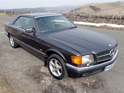 Lot 67 - 1990 Mercedes-Benz 500 SEC