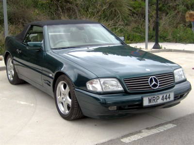 Lot 59-1998 Mercedes-Benz SL 280
