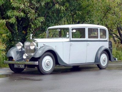Lot 51-1934 Rolls-Royce 20/25 Limousine