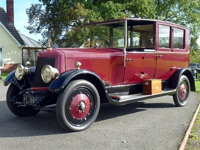 Lot 16-c.1919 Armstrong Siddeley 30hp Open Drive Limousine