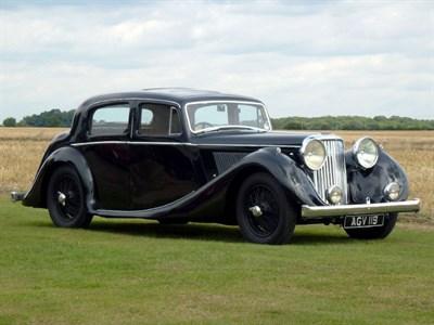 Lot 69-1947 Jaguar MK IV 2.5 Litre Saloon
