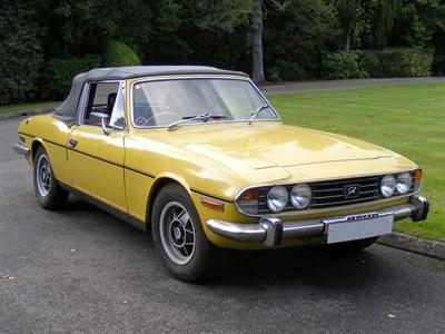 Lot 40-1974 Triumph Stag