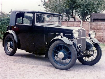 Lot 68-1932 Wolseley Hornet Sports