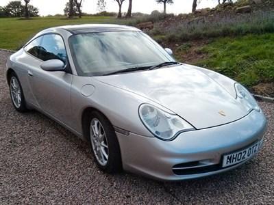 Lot 21-2002 Porsche 911 Targa